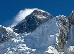 Mt Everest und Nuptse
