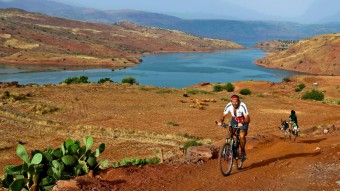 Grosser Atlas Trek mit dem Mountainbike
