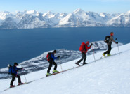 Skitouren in den Lyngen Alpen mit Luxus Lodge